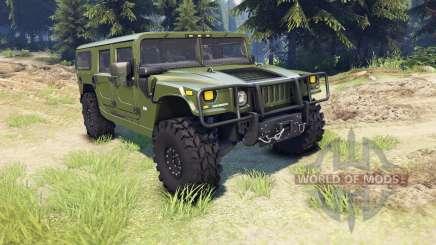 Hummer H1 green para Spin Tires