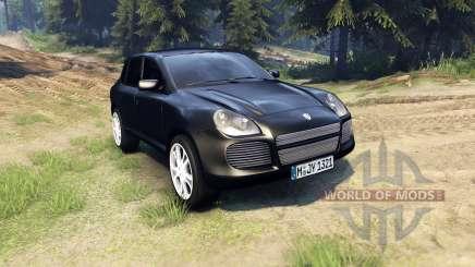 Porsche Cayenne para Spin Tires