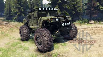 HMMWV M-1025 para Spin Tires
