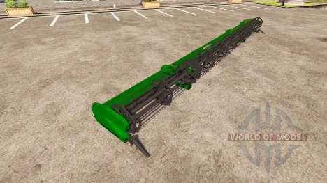 Deutz-Fahr Cutter 1320 WSR Pro para Farming Simulator 2013