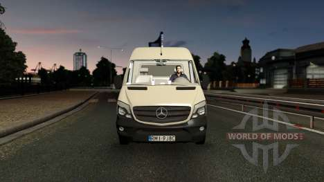 Mercedes-Benz Sprinter CDI311 2014 para Euro Truck Simulator 2