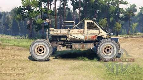 Máquina de Metro 2033 para Spin Tires
