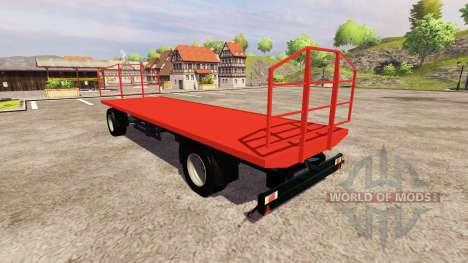 El trailer Agroliner bale para Farming Simulator 2013