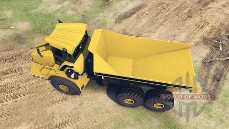 Liebherr Dump Truck v0.01 para Spin Tires