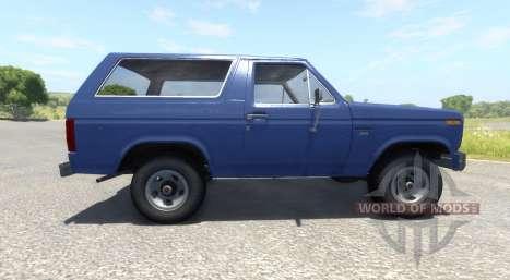 Ford Bronco 1980 para BeamNG Drive