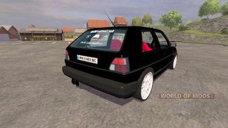 Volkswagen Golf Mk2 GTI v2.0 para Farming Simulator 2013