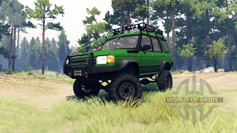Land Rover Discovery para Spin Tires