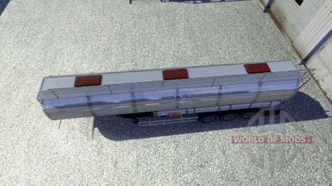 Remolques Techno Productos Químicos para Euro Truck Simulator 2