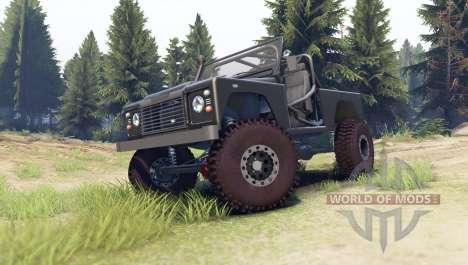 Land Rover Defender 90 [open top] para Spin Tires