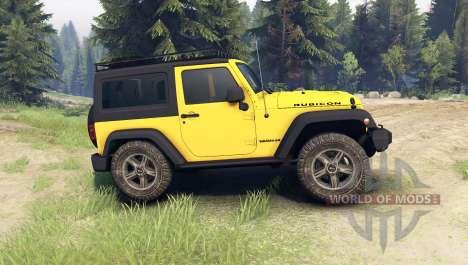Jeep Wrangler Rubicon para Spin Tires