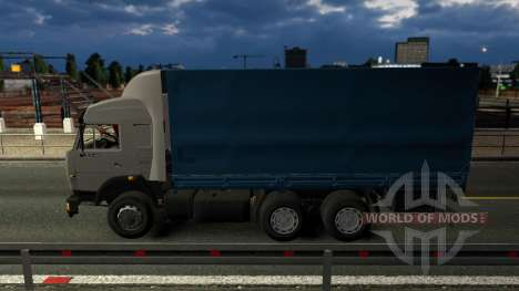 KamAZ 43118 con la rueda para Euro Truck Simulator 2