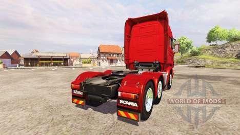 Scania R730 Topline v2.2 para Farming Simulator 2013