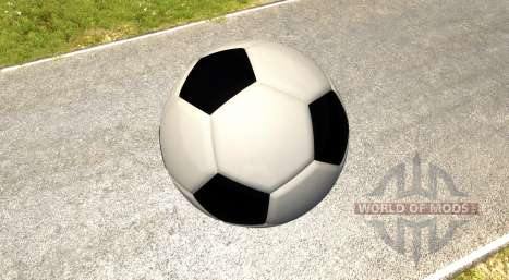 El gigante de balón de fútbol para BeamNG Drive