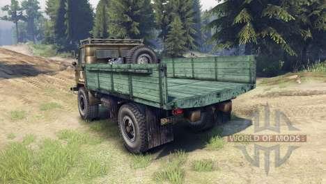 GAZ-66 diesel para Spin Tires