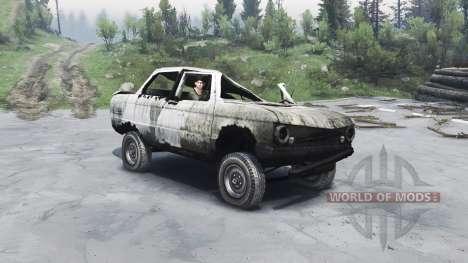 ZAZ-968 M para Spin Tires