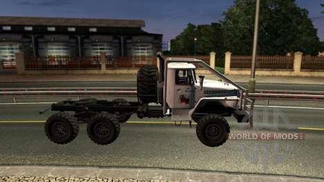 Ural 43020 para Euro Truck Simulator 2