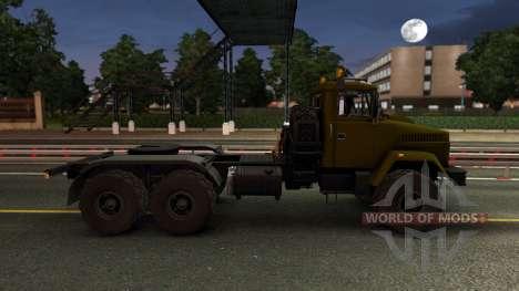 Kraz 6446 para Euro Truck Simulator 2