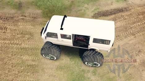 Minibus para Spin Tires