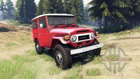 Toyota Land Cruiser (J40) para Spin Tires