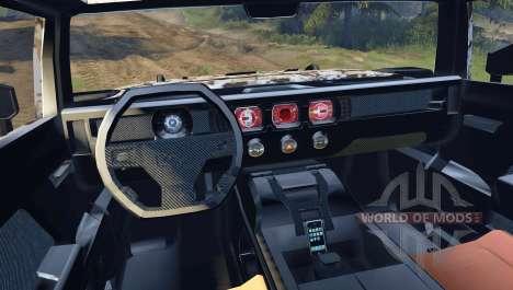 Hummer HX v2.0 para Spin Tires