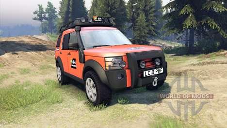 Land Rover Discovery para Spin Tires