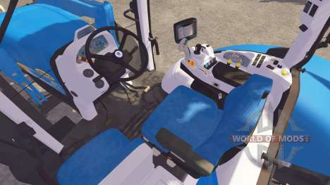New Holland T7040 FL para Farming Simulator 2013