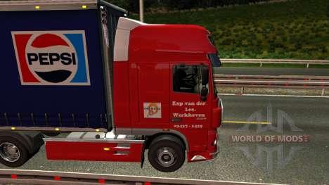 DAF XF Tandem para Euro Truck Simulator 2