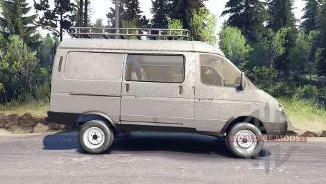 GAS-Sable 27527 4x4 para Spin Tires