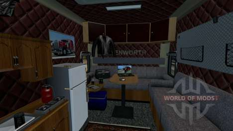 Kenworth Long Edition para Euro Truck Simulator 2