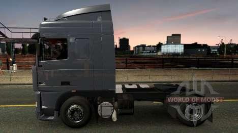 DAF 95XF SpaceCab & Interior para Euro Truck Simulator 2