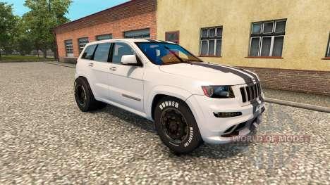 Jeep Grand Cherokee SRT8 v1.2 para Euro Truck Simulator 2