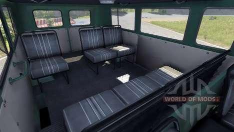 UAZ 2206 Pan para BeamNG Drive