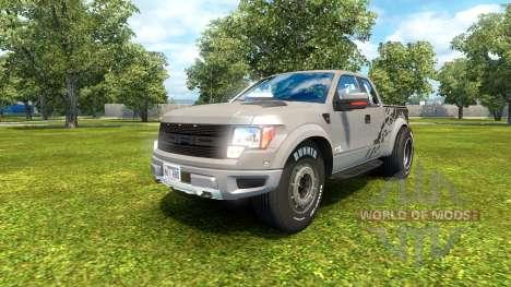 Ford F-150 SVT Raptor 2012 v2.0 para Euro Truck Simulator 2