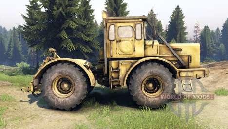 K-700 Kirovets para Spin Tires