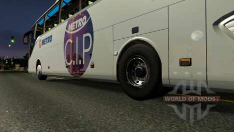 Setra 516 HDH Bus Mod First and Only para Euro Truck Simulator 2