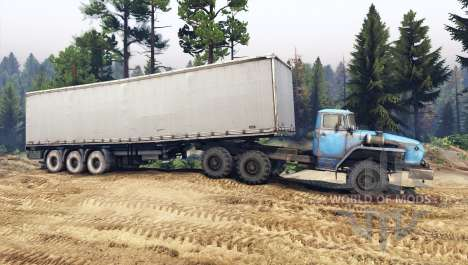 Ural-432010 para Spin Tires