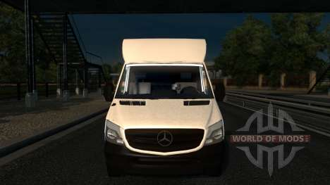 Sprinter Mega Mod v1 para Euro Truck Simulator 2