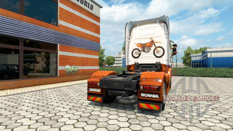 KTM piel para Scania camión para Euro Truck Simulator 2