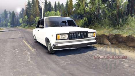 VAZ-2107 para Spin Tires
