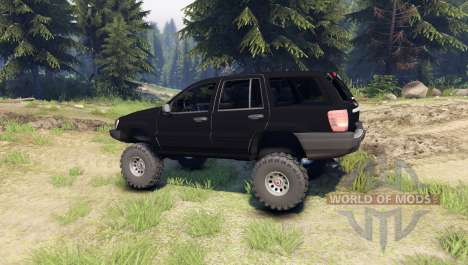 Jeep Grand Cherokee ZJ para Spin Tires