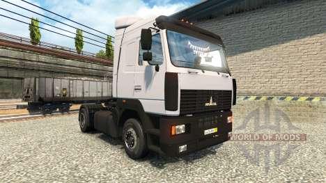 MAZ 54409 para Euro Truck Simulator 2