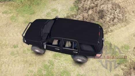 Jeep Grand Cherokee ZJ para Spin Tires