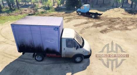 GAZ-3302 Gacela para Spin Tires