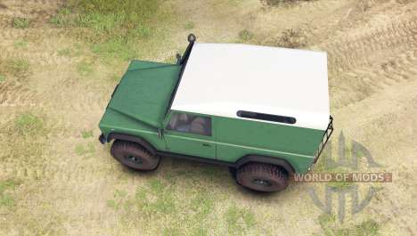 Land Rover Defender 90 [hard top] para Spin Tires