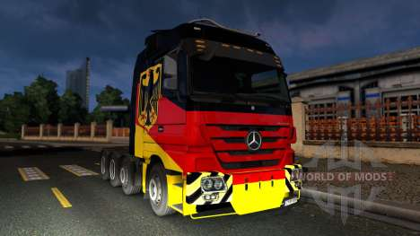Mercedes-Benz Actros 4160 SLT 8x4 Titan para Euro Truck Simulator 2