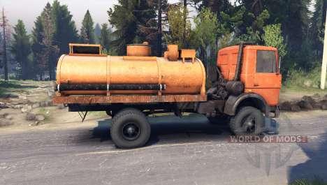MAZ-5337 para Spin Tires