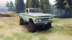 Chevrolet С-10 1966 Personalizado de dos tonos d