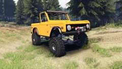 Ford Bronco 1966 [orange]