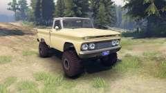 Chevrolet С-10 1966 Personalizado en dos tonos d