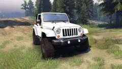 Jeep Wrangler white